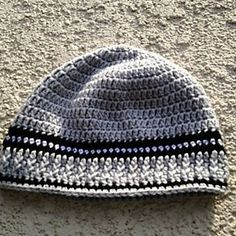 FREE RAVELRY DOWNLOAD CROCHET ADULT MALE BEANIE  ONE SIZE