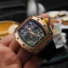 Richard Mille [NEW][RARE] RM 11-03 Rose Gold & Titanium Automatic Flyback Chronograph (Retail:US$130,500)   OUR PRICE 售價: HK$1,060,000.    #richardmille #rm #richard_mille #RM1103 #RM_1103 #RM_11_03 #RM1103RoseGoldTitanium #RM_11_03_Rose_Gold_Titanium #richardmille1103