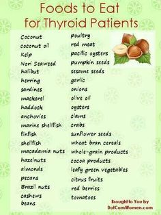 Foods For Thyroid Patients
