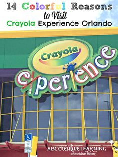 Looking for a fun day of colorful crafts and crayons? Summer is the perfect time to learn about the 14 Colorful Reasons to Visit Crayola Experience Orlando! - abccreativelearning.com
