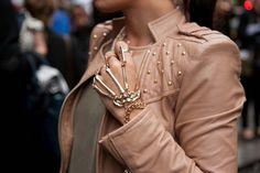 London fashion week street style spring/summer '14 gallery - Vogue Australia