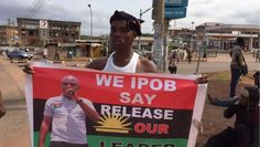 "Top News: ""NIGERIA: 40,000 IPOB Sympathizers Disrupt Businesses In South East"" - http://www.politicoscope.com/wp-content/uploads/2015/11/Nigeria-Biafra-News-Now-Nnamdi-Kanu-has-been-in-the-custody-of-Nigerias-intelligence-agency-for-more-than-four-weeks.jpg - IPOD resolved to get the detained Radio Biafra boss Nnamdi Kanu released and to actualize their agitation for the sovereign state of Biafra.  on Politicoscope - http://www.politicoscope.com/nigeria-40000-ipob-sympathizer"