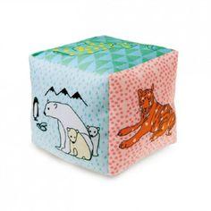 JOJO   Texel - MIMI'lou cotton cube, zoo