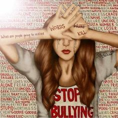Stop bullying and stand up. <3