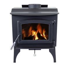 Pleasant Hearth Wood Burning Fireplace Small Wood Burning Stove, Small Stove, Stove Accessories, Fireplace Accessories, Us Stove Company, Small Mobile Homes, Wood Furnace, Wood Pellet Stoves, Wood Pellets