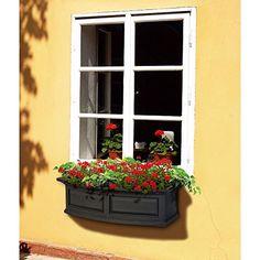 Nantucket 3 Ft. Polyethylene Window Box, 2015 Amazon Top Rated Window Boxes #Lawn&Patio
