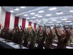 American Soldiers Singing 'Days of Elijah'