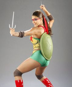 The best girl ninja turtle costume ever, i love it