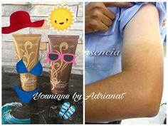 Hey que no te pase esto!!! Evitate el oso de traer brazos y piernas marcadas por el sol!!! Tip de belleza: Para unificar el tono de tu piel, usa cremitas con color bronceador, son maravilla para unificar el tono de tu piel!  #bronzer #cremabronceadora #autobronceador #Beachfront #younique #youniquebyadrianat #products #cosmetics #makeup #beachbabe #body #healthy #beach #bronceador #permanente #semipermanente