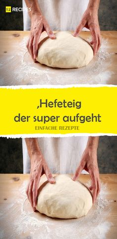 Hefeteig, der super aufgeht (Grundrezept) Yeast dough, which rises super (basic recipe) Party Buffet, Cakes And More, Bread Baking, Sweet Tooth, Bakery, Dinner Recipes, Brunch, Food And Drink, Homemade
