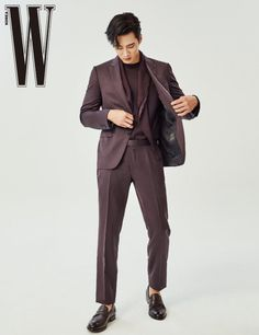 더블유 9월호 안보현X제냐 패션 화보 | 더블유 코리아 (W Korea) Korean Fashion Men, Mens Fashion, Normcore, Actors, Suits, Style, Moda Masculina, Swag, Man Fashion