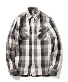Pilgrim Surf+SupplyのPilgrim Surf+Supply / MCCOBB Field Shirt - Block Flannelです。こちらの商品はBEAMS Online Shopにて通販購入可能です。
