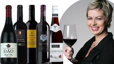 Vin – röda viner under 80 kronor Alcoholic Drinks, Beverages, Starters, Red Wine, Vegetables, Bottle, Glass, Accessories, Alcoholic Beverages