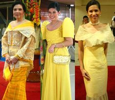 """The Terno and Its """"Snobbish"""" Butterfly Sleeves 