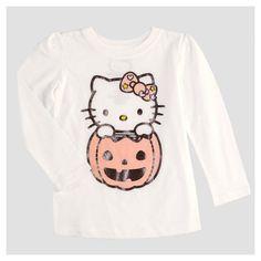 Toddler Girls' Hello Kitty T-Shirt - White