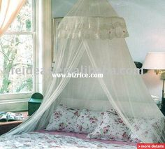 mosquito net canopy bedroom - Google Search