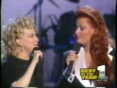Bette Midler & Wynonna - Let It Be Me (Live)  These ladies give me chills when they sing together!