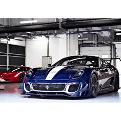 Rare Ferrari 599XX