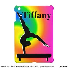 VIBRANT PERSONALIZED GYMNASTICS IPAD MINI CASE Calling all Gymnasts! Awesome personalized Gymnastics ipad cases only here at Zazzle!   https://www.zazzle.com/collections/personalized_gymnastics_ipad_cases-119064017686498323?rf=238246180177746410&CMPN=share_dclit&lang=en&social=true Gymnastics #Gymnast #WomensGymnastics #Gymnasticscase #PersonalizedGymnast