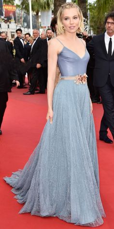 The Best of the 2015 Cannes Film Festival Red Carpet - Sienna Miller  - from InStyle.com