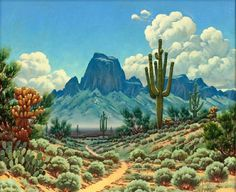 JOSE ACEVES Arizona Landscape