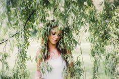 White Sails Photography Silhouette Portrait Window Door In Home Photoshoot Doorway Outdoors Garden Willow Tree