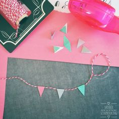 Pennant Banners for Scrapbooking Pennant Banners, Shoe Box, Scrapbooking Ideas, Shoe Cabinet