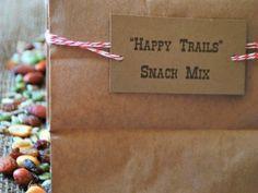 'Happy Trails' Snack Mix - Wild West Party