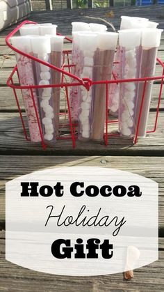 Hot Cocoa Handmade Holiday Gift with Free Printable