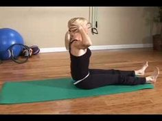 Advanced Pilates Exercises : Advanced Pilates Exercises: Neck Pull