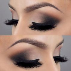 41 Hottest Smokey Eye Makeup Ideas #Outfit https://seasonoutfit.com/2018/01/17/41-hottest-smokey-eye-makeup-ideas/