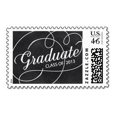 stamp in the style of chalkboard