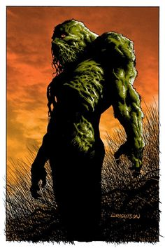 Swamp Thing - Bernie Wrightson ----