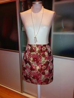 El Taller de Chapucina: Falda brocada con PATRONES y TUTORIAL incluidos Waist Skirt, High Waisted Skirt, Sewing, Skirts, Fashion, Advent, Calendar, Atelier, Tutorials