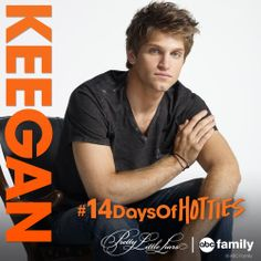 Keegan Allen from ABC Family's Pretty Little Liars #14DaysofHotties