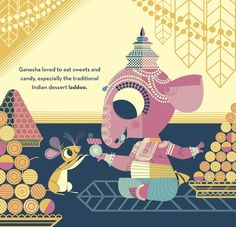 ganesha's sweet tooth by sanjay patel.