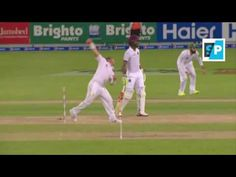 Yasir Shah Takes 1st WICKET Johnson OUT   Pakistan vs west Indies 1st Te...