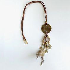 Handmade necklaceUnique necklaceGift for momGift for by LinhaBinha