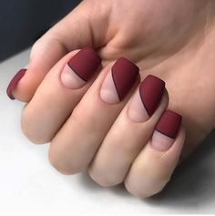 A manicure is a cosmetic elegance therapy for the finger nails and hands. A manicure could deal with just the hands, just the nails, or Square Nail Designs, Elegant Nail Designs, Diy Nail Designs, Simple Nail Art Designs, Elegant Nails, Easy Nail Art, Simple Art, Nails Polish, Matte Nails
