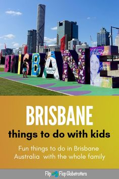 Brisbane, Australia, is a very family friendly city. Compact and easy to navigate with lots of kids activities. You'll find plenty of fun things to do with kids in Brisbane. Check out these local insiders tips! Brisbane Australia, Australia Travel, Perth, Travel With Kids, Family Travel, Family Trips, Things To Do In Brisbane, All Family, Travel Around