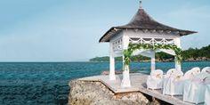 Couples tower isle ocho rios jamaica beach wedding destination wedding