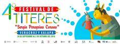 Participarán 18 compañías en el 4 Festival de Títeres Sergio Peregrina Corona de Veracruz
