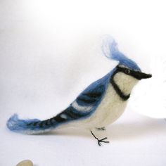 Blue Jay by FeltForest on Etsy, $65.00