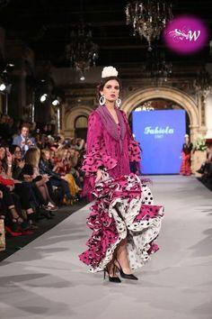 es - We Love Flamenco 2018 - Fabiola Our Love, Kimono Top, Tops, Dresses, Women, Fashion, Fashion Dresses, Ruffles, Polka Dot