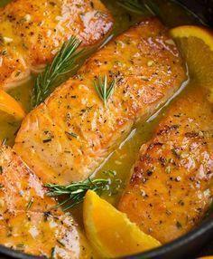 Tavada portakallı somon fileto tarifi – Tavuk tarifleri – The Most Practical and Easy Recipes Orange Salmon Recipes, Easy Salmon Recipes, Fish Recipes, Seafood Recipes, Healthy Dinner Recipes, New Recipes, Cooking Recipes, Quick Recipes, Orange Glazed Salmon