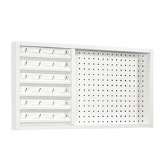 Craft Wall Mount Thread With Peg Board White - Sauder