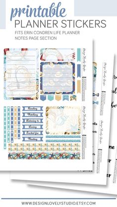 ☀ Get ready for summer! ☀ This nautical printable planner stickers kit will help you get your Erin Condren Notes page ready for summer! Kit from Design Lovely Studio. #erincondren #eclp #plannerstickers #diy Hourly Planner, Free Planner, Happy Planner, Printable Planner Stickers, Printables, Summer Planner, Planner Decorating, Letter Size Paper, Erin Condren Life Planner