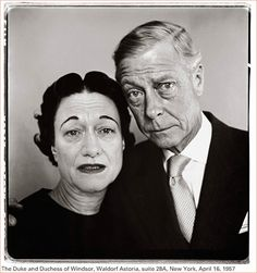 The Duke and Duchess of Windsor » Richard Avedon