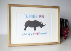 Oh my...50 shades of...erm...rhino grey? http://etsy.me/1NHm7pT  Printed on rhino dung card. #ecocreatehour