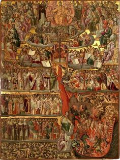 The Second Coming. The Hellenic Institute for Byzantine and Post-Byzantine Studies in Venice. Religious Images, Religious Icons, Religious Art, Orthodox Catholic, Orthodox Christianity, Byzantine Icons, Byzantine Art, Orthodox Icons, Sacred Art